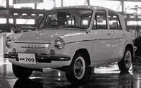 Mazda 700 на автосалоне, 1961 год