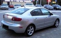 Mazda3 BK, седан, вид сзади